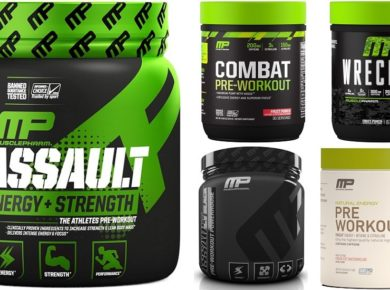 Musclepharm Assault pre workouts