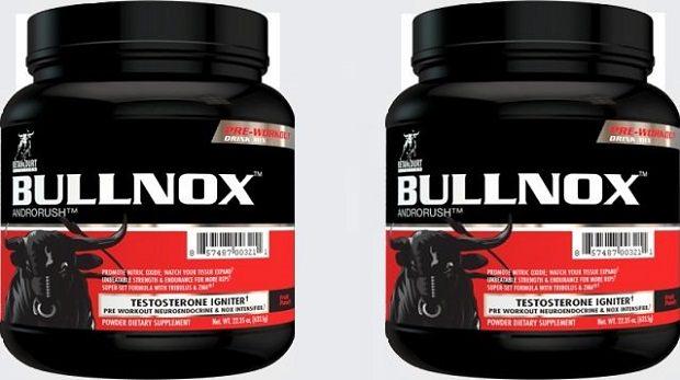 Bullnox androrush caffeine content