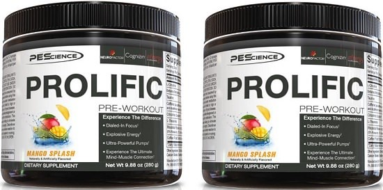 PES before workout supplement