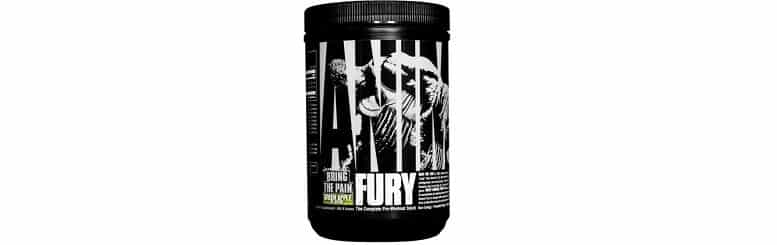 Animal Fury Creatine Free