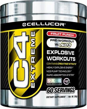 Cellucor Chrome C4 Extreme Before Workout Drink