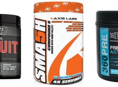 Pre workouts review sma5h vs pursuitrx vs 360PRE
