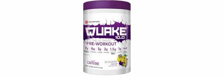 Scivation Quake no Creatine