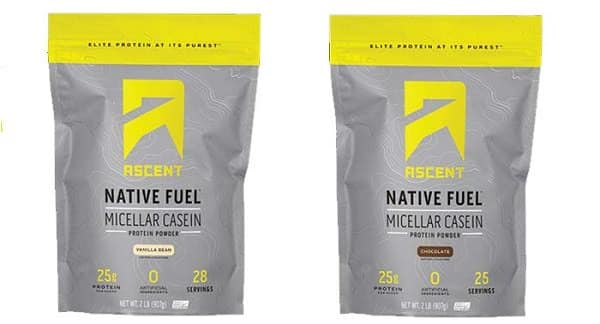 Ascent Native Fuel Casein Review