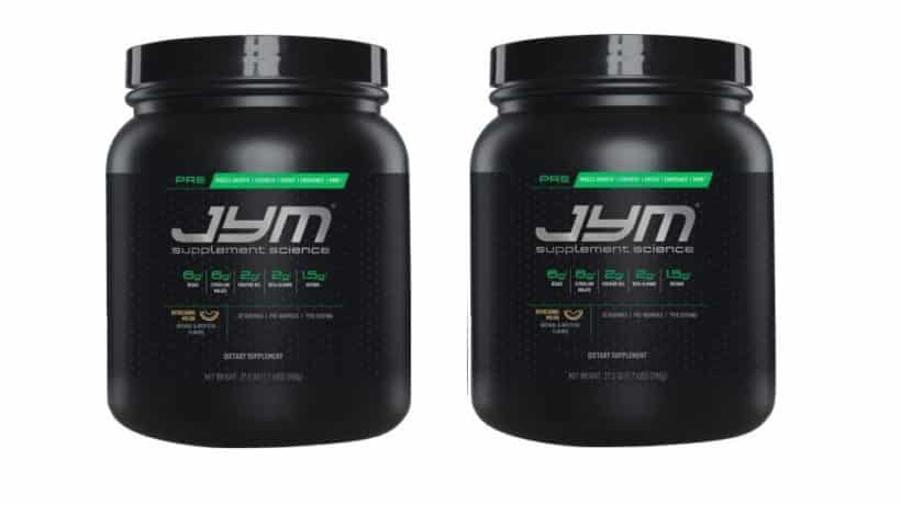 New pre-jym pre workout