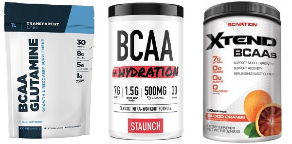 Mixing BCCAs with pre workout