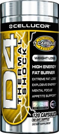 D4 Thermogenic Fat Burning Supplement