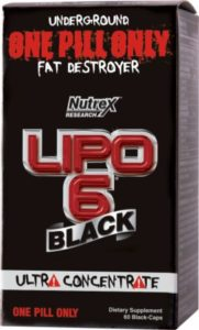 Lipo 6 Black Fat Burner