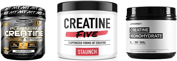 Creatine with pre workout