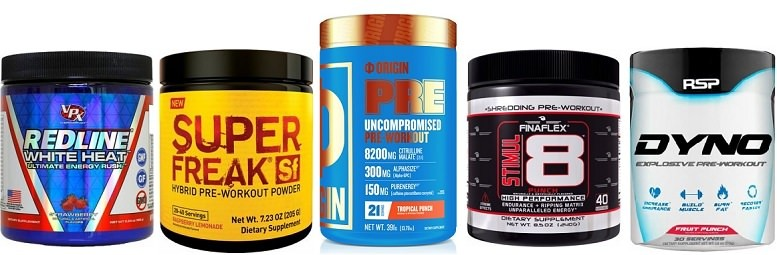 Strongest pre workouts available
