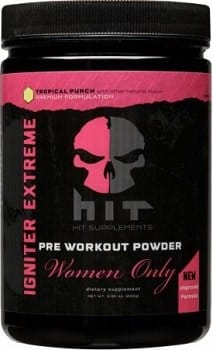 Igniter Womens pre workout