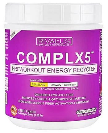 Complx 5 Running Pre Workout