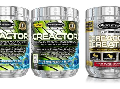 Creactor creatine compared to creacore
