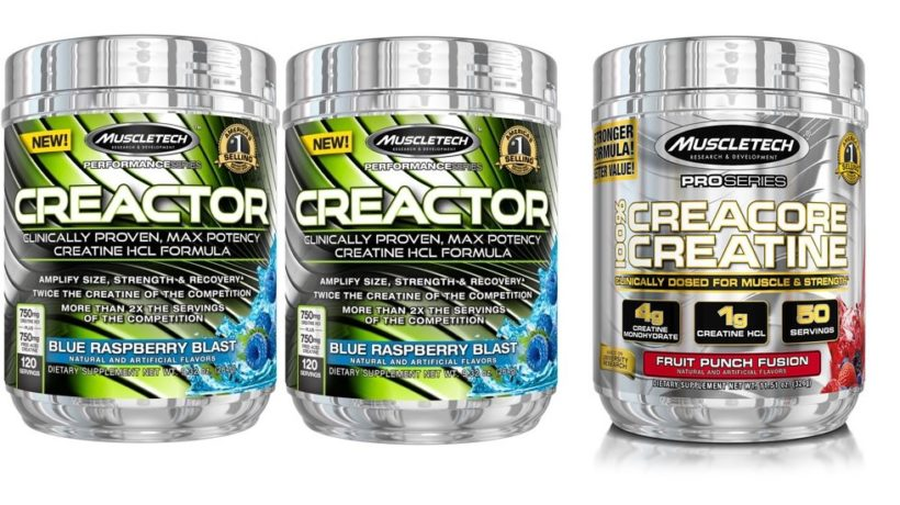 Creactor creatine compared to creacore
