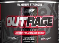 Outrage Pre Workout Review