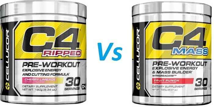 Review of C4 Pre Workout Types