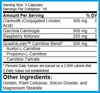QuadraLean Stimulant Free