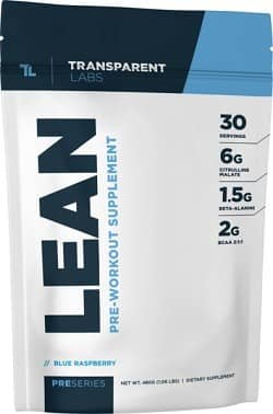 LEAN vs BULK pre workouts