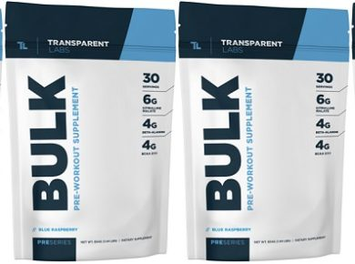 PreSeries BULK Pre Workout Review