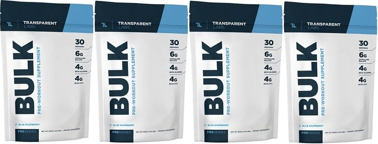 PreSeries BULK Pre Workout Review