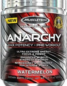 Anarchy Pre Workout Review