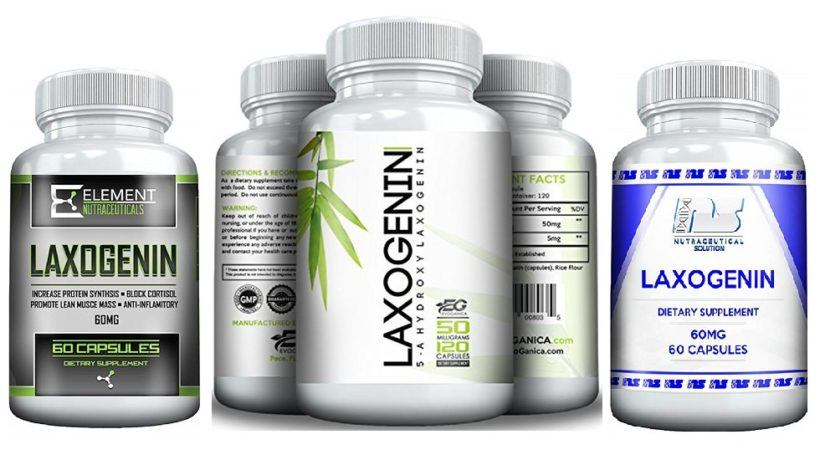 Laxogenin for muscle