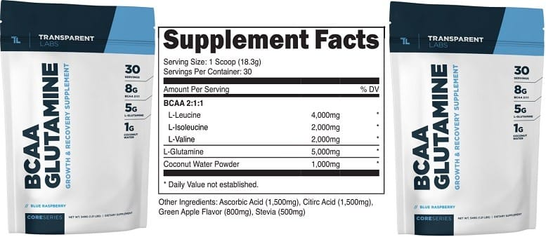 BCAA Glutamine Supplement
