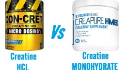 Creatine Monohydrate vs HCL Supplements