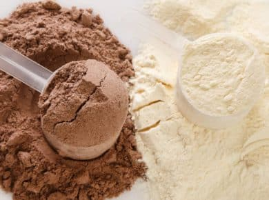 differences between whey and casein protein