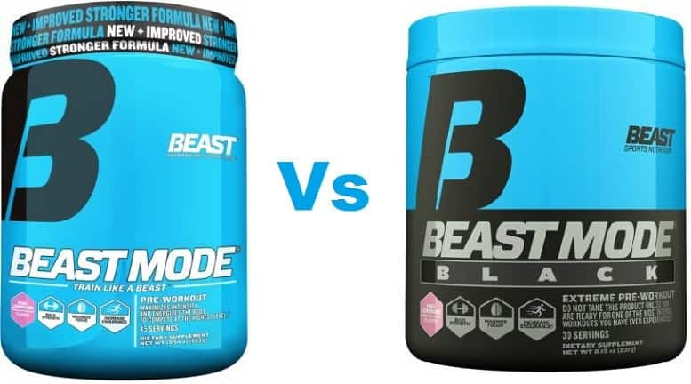 Beast Mode Vs Beast Mode Black