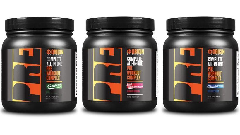 ORIGIN Pre Workout Review