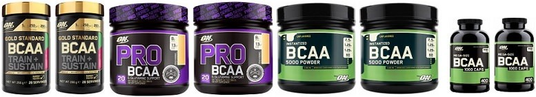 Optimum BCAA Review