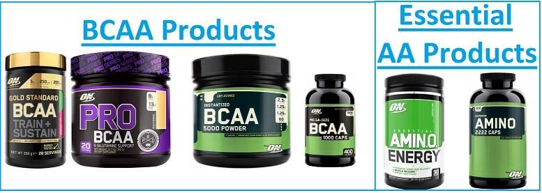 Optimum Nutrition BCAAs and Amino Acids