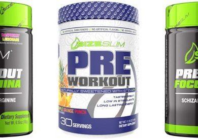 Size Slim Pre Workout Review