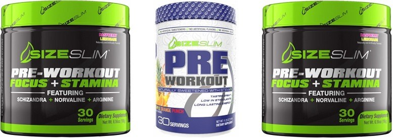 Size Slim Pre Workout Review