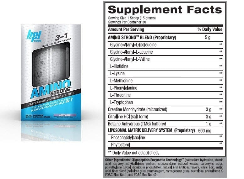 BPI Amino Strong Supplement