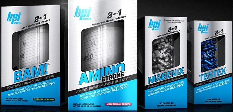 BPI Sports BAM Amino Strong and Niagenix