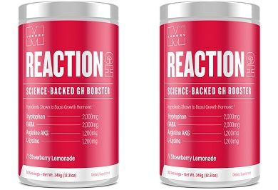 Reaction GH Growth Hormone Supplement