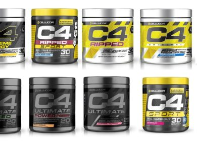 Review of cellucors C4 pre workouts