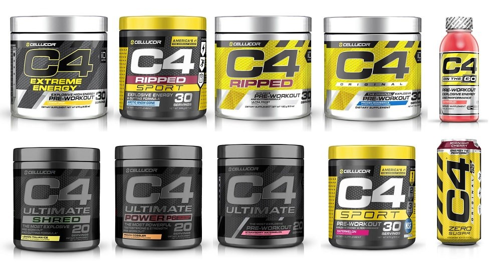 Cellucor C4 Pre Workout Guide – Which C4 do you pick?