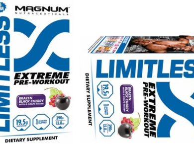 Magnum Nutraceuticals Limitless Pre Workout