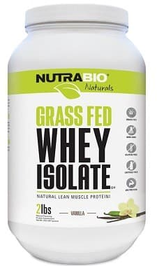 NutraBio Whey Powder