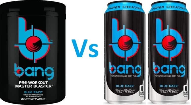 Bang Vs VPX Bang Pre Workout
