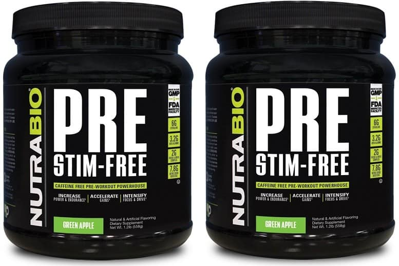 NutraBio PRE Stim-Free Review – How it compares to regular NB PRE