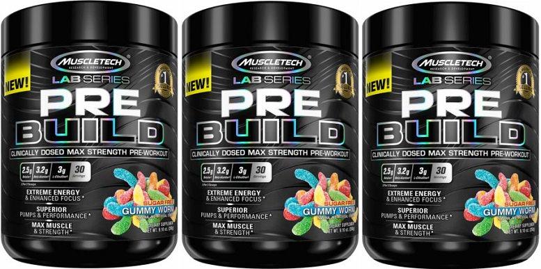 PRE BUILD pre workout