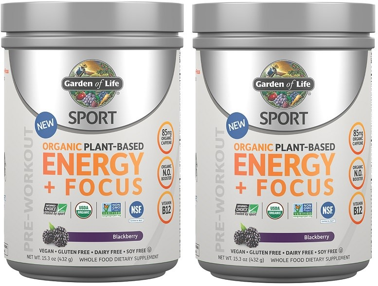 Garden of life sport pre workout review energy focus use supplements for Garden of life energy and focus