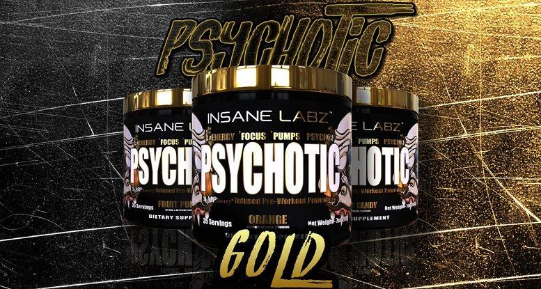 Insane Labz Psychotic Gold Review Stimulant Madness