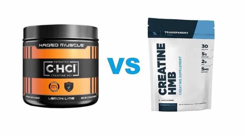 creatine hydrochloride vs creatine monohydrate
