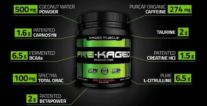 Pre Kaged Pre Workout