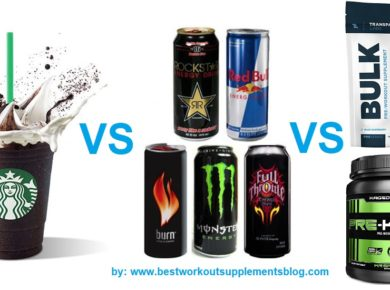 coffee vs energy drink vs pre workout